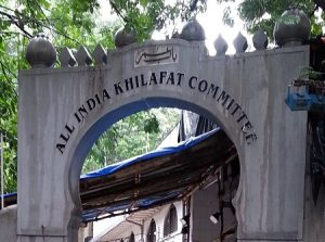 khilafat movement in india