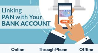 how to check pan card link with bank account