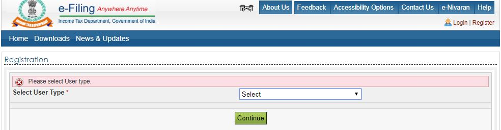 what is e-filing