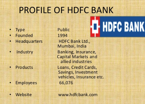 HDFC bank in usa